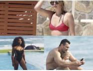 Шарапова и другие знаменитые спортсмены на пляже (ФОТО)