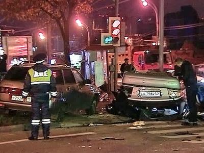 Авария с Голуб в Москве