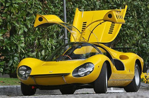 Ferrari Dino 206 Pininfarina Competizione Concept '1967 был выпущен в единственном экземпляре.