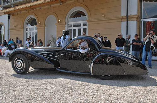 Bugatti Type 57 SC Atalante был построен всего в семи экземплярах.