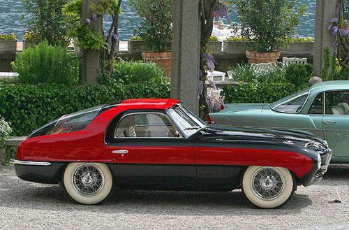 Pegaso Z-102 Thrill Berlinetta Touring 1953 года получил приз Auto & Design за наиболее восхитительный дизайн, по мнению жюри.