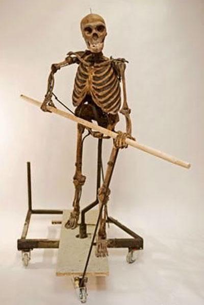 Именно таким оказался череп, на основе которого и была воссоздана фигура неандерталки…