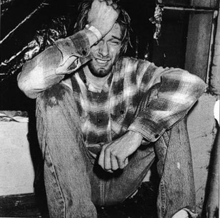 фото мёртвого курта кобейна