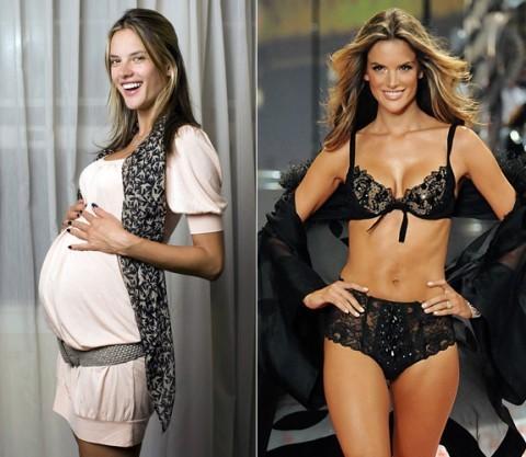 Как избавиться от жира после родов