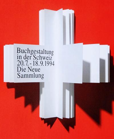 Книга в виде креста на флаге Швейцарии содержит перечисление популярным дизайнером его основных достижений и вех биографии. В конце Меделль поставил свою дату смерти. В этот день он и умер.