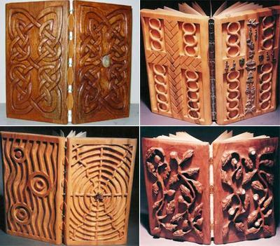 Будучи экологическим художником, Барбара создает свои деревянные творения исключительно из мертвых деревьев.