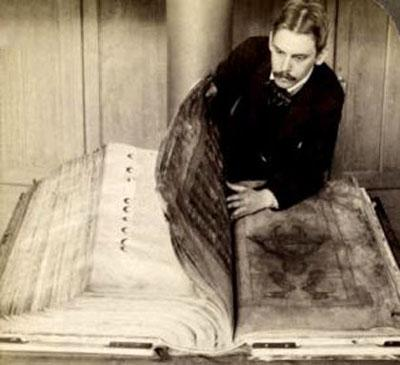 Самая большая книга в мире - «Библия Дьявола» («The Codex Gigas»)