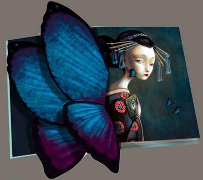 На данный момент Лакомб уже издал дизайнерские варианты для таких всемирно известных произведений, как «Пиноккио», «Мадам Баттерфляй» и «Алиса в Стране Чудес».