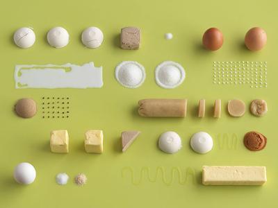 Кулинарный справочник под названием «Homemade Is Best» содержит рецепты, которые изображены в стиле инструкций по сборке модульной мебели IKEA.