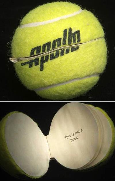 Книга - теннисный мяч